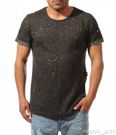 Впечатляваща тениска с ефект 9493