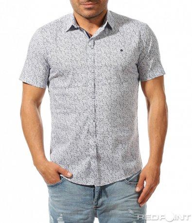 Спортно елегантна риза с фигури и орнаменти 9486