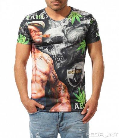 Ексцентрична мъжка тениска 9488