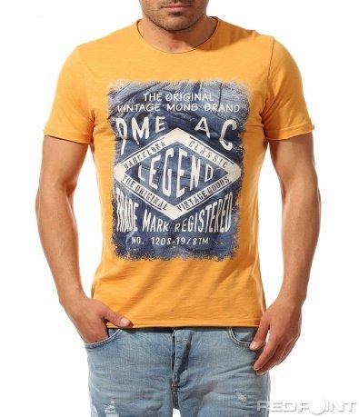 Ежедневна памучна тениска с щампа 9250