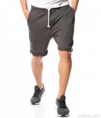 Тъмно сиви къси панталонки 9504
