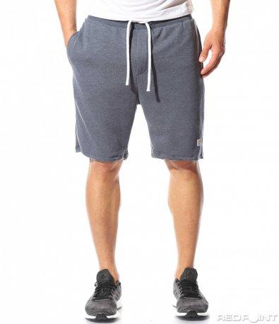 Едноцветни памучни къси панталони 9505