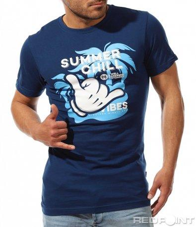 Лятна тениска със свежа апликация 9523