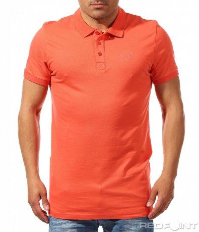 Класическа тениска с яка 9619
