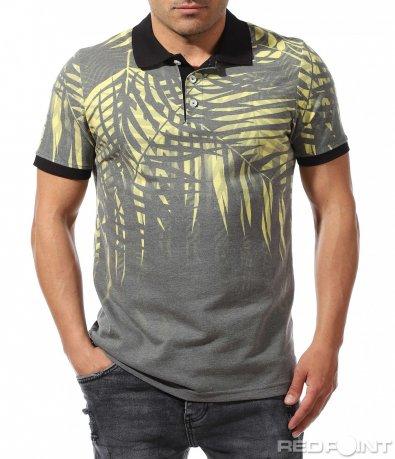 Ексцентрична тениска с ефект 9641
