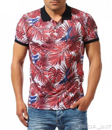 Цветна тениска с мотиви 9662
