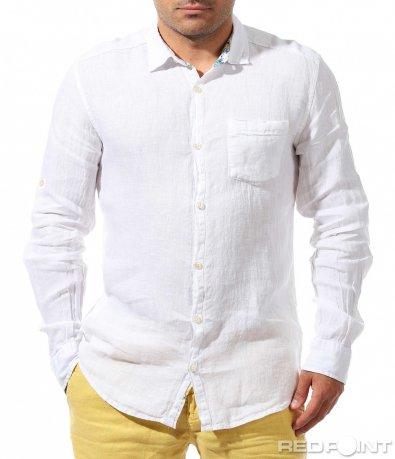 Лятна риза от лен 9663