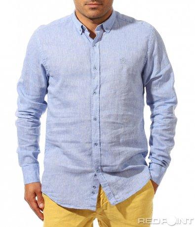 Изчистена риза от лен 9667