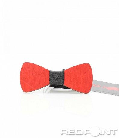 Папионка в яркочервен цвят 9708