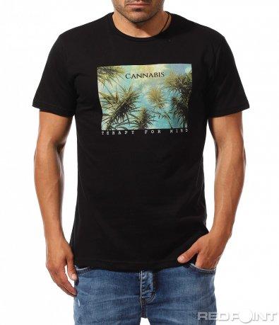 Лятна тениска с провокативна щампа 9474