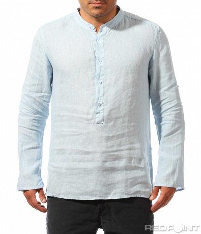 Риза с половин закопчаване 9754