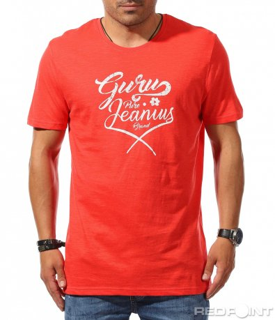 Лятна свежа тениска с надпис 9776