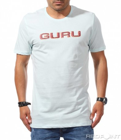 Едноцветна longfit тениска с надпис 9782