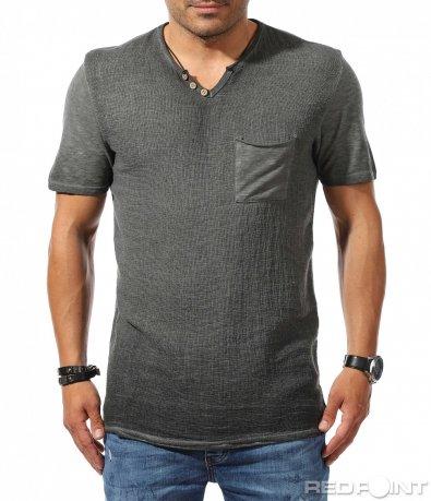 Ежеденвна тениска с декорация 9791