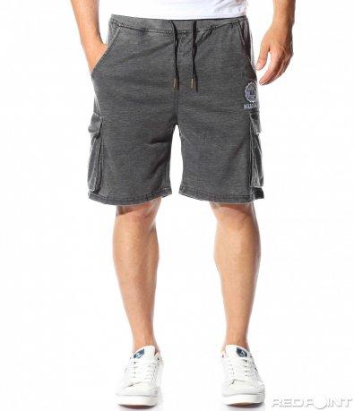 Сиви панталони с джобове 9797