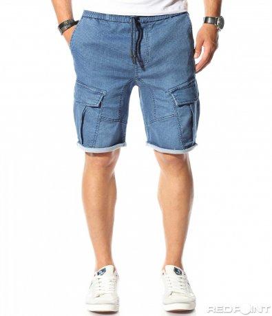 Памучни карго панталонки 9815