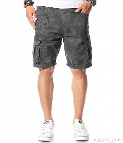 Карго панталонки с принт 9818