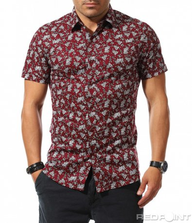 Клубна риза с vintage стил 9822