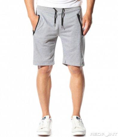 Еднотонни къси панталони 9808