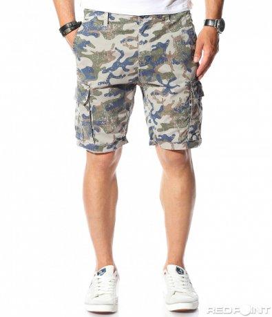 Камуфлажни карго панталонки 9832
