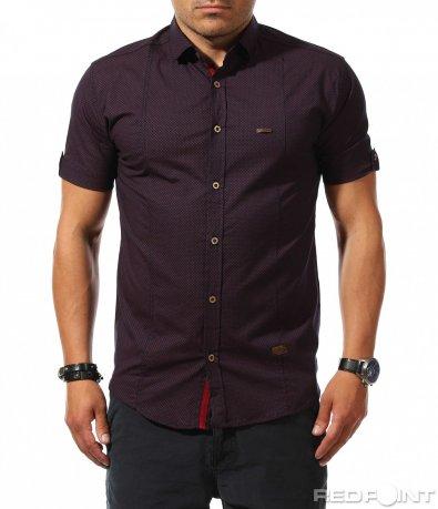 Стилна риза с къс ръкав 9887