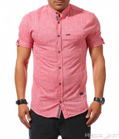 Лятна риза с къс ръкав 9888