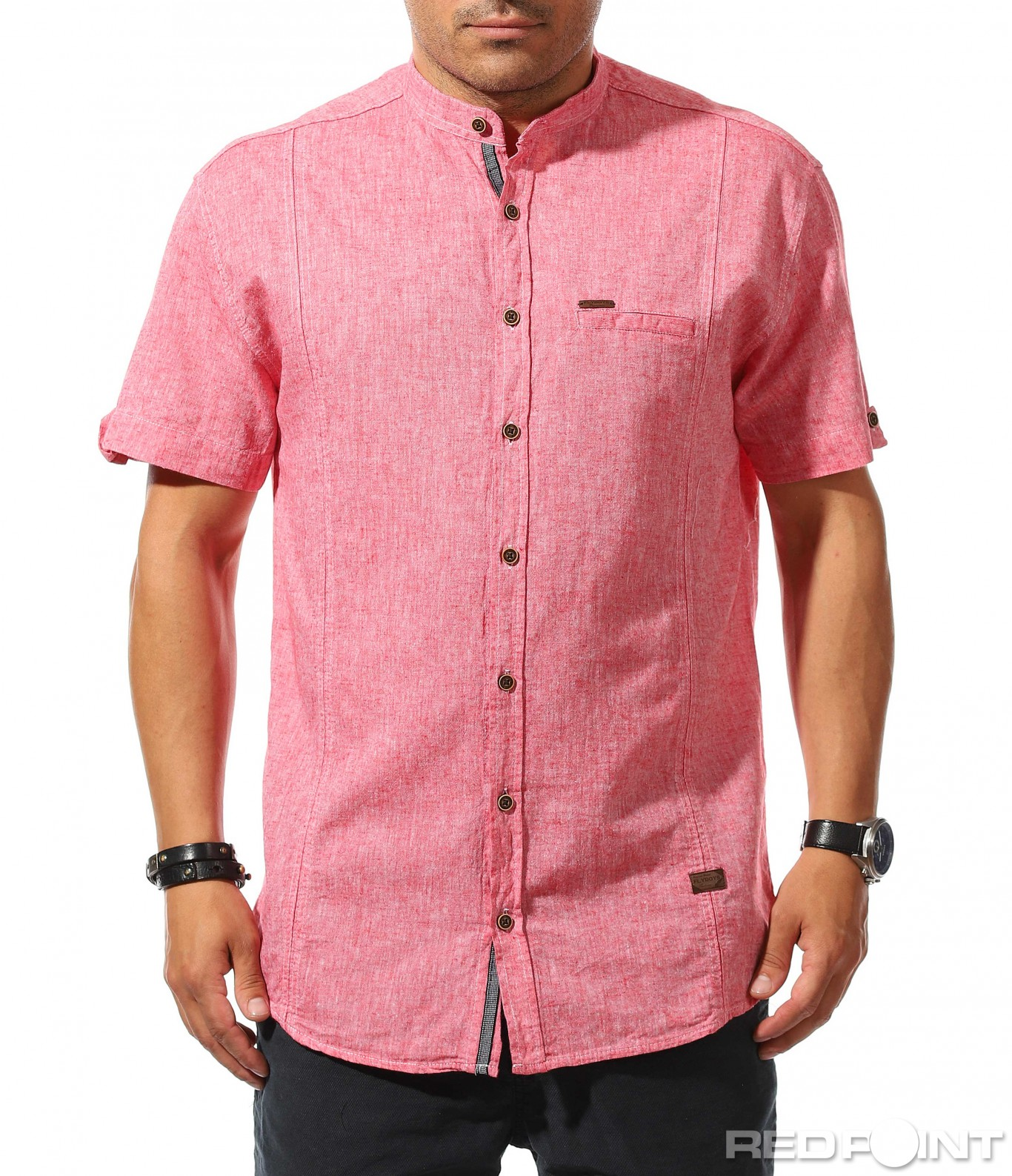 22ed0d8c736 Свежа риза с къс ръкав 9889 - Red Point Варна