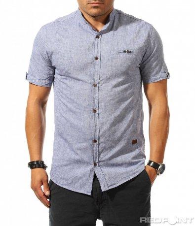 Атрактивна риза със спортна яка 9891