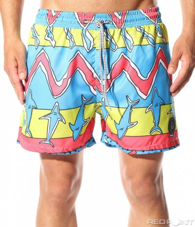 Плажни шорти с акули 9900