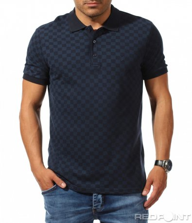 Семпла поло тениска с принт 9904