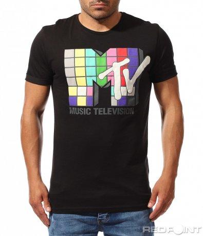 Party тениска с щампа 9914
