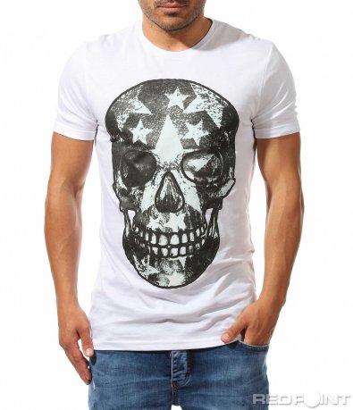 Вталена тениска с апликация 9910