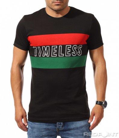 Фешън тениска с надпис 9916