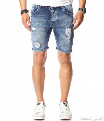 9925 jeansi slimfit scurti