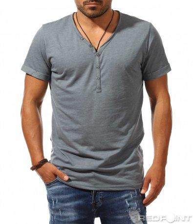 Тениска с дълбоко деколте 9968