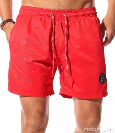 Плажни шорти с декорация 9969