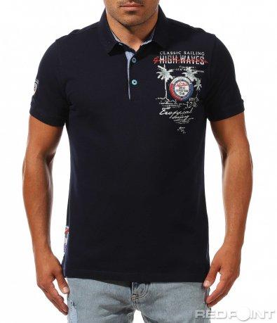 Автентична тениска с яка 9995