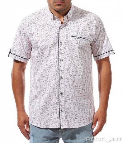 Атрактивна риза с малки орнаменти 10028