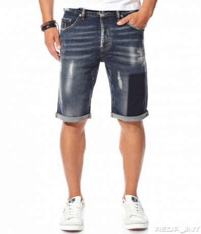 10038 Pantaloni scurți din jeans