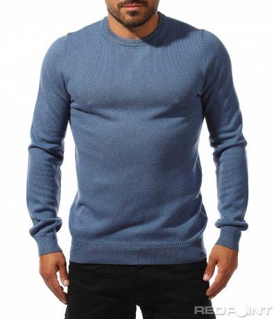 Есенна блуза с дълъг ръкав 10122