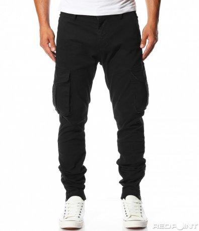 Изчистен панталон със странични джобове 10138