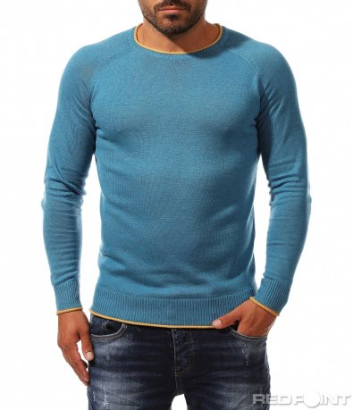 Ежедневна блуза тип пуловер 10160