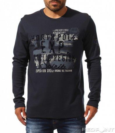 Есенна блуза в regular fit 10173