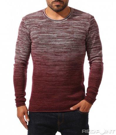 Модерен пуловер с омбре ефект 10197