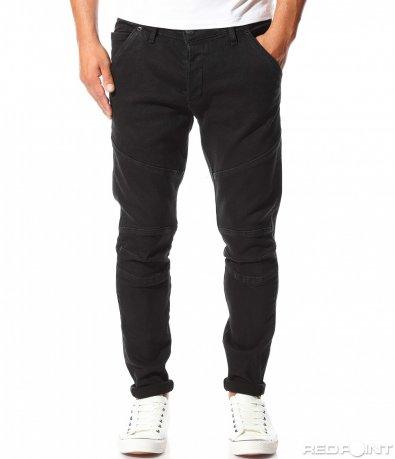 Черни дънки с италиански джоб 10181