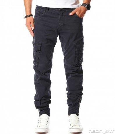 Авангарден панталон с джобове 10258