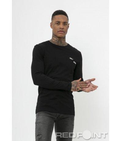 Памучна блуза с дълъг ръкав Religion 50002