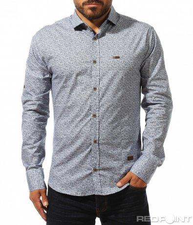 Риза с иновативен принт 10269