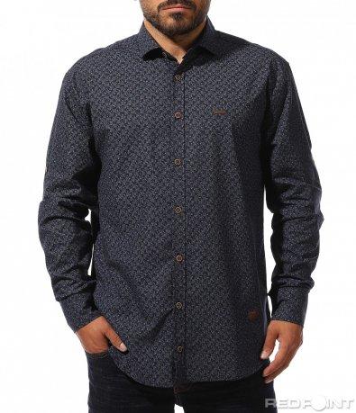 Впечатляваща риза с мотиви 10270