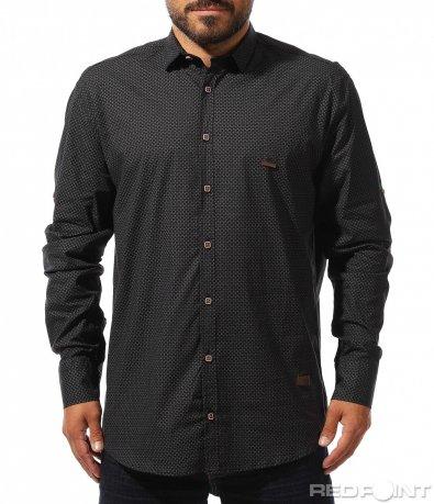 Елегантна риза с принт 10274